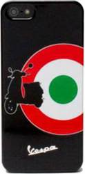 Puro Hard Case Vespa για Apple iPhone 5/5S Μαύρη