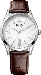 Hugo Boss Brown Leather Strap 1513021