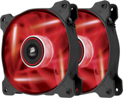 Corsair SP140 LED Red High Static Pressure 140mm (Twin Pack)