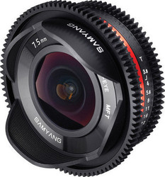 Samyang 7.5mm T3.8 UMC Fish-eye VDSLR (MFT)