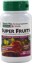 Nature's Plus Herbal Actives Super Fruits 60tabs