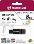 Transcend Jetflash 340 Mobile (OTG) 8GB