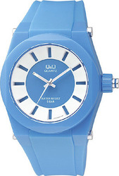 Q&Q Xl Sport Light Blue Plastic Strap VR32-001T