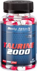 Body Attack Taurine 2000 90 tabs
