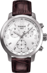 Tissot Prc 200 Chronograph Brown Leather Strap T055.417.16.017.01