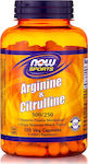 Now Foods Arginine & Citrulline 500/250mg 120 κάψουλες