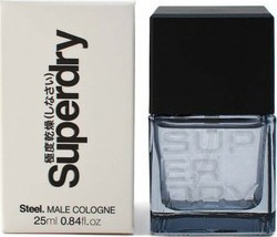 Superdry Steel Eau de Cologne 25ml