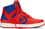 Converse Weapon Leather Mid Red/Blue/White 144546C