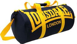 Lonsdale Barrel Bag Black/Yellow