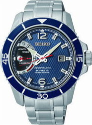Seiko Kinetic Stainless Steel Bracelet SRG017P1