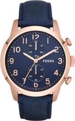 Fossil Townsman Chronograph Leather Watch FS4933