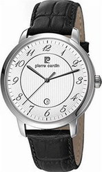 Pierre Cardin Classic Black Leather Strap PC106311F02