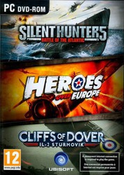 Silent Hunter 5 + Heroes Over Europe + Cliffs of Dover IL-2 Sturmovik PC