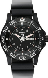 Traser Mens Military Elite Red Watch 100335