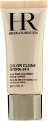 Helena Rubinstein Color Clone Hydra 24h Nude Finish Foundation SPF15 23 Beige Biscuit 30ml