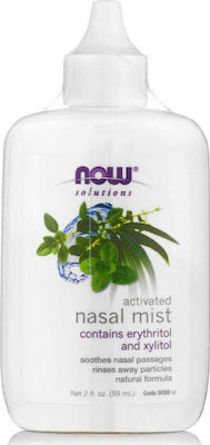Now Foods Nasal Mist Activated 60ml
