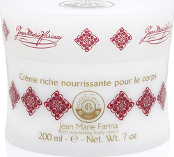 Roger & Gallet Jean Marie Farina Rich Nourishing Body Creme 200ml