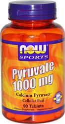 Now Foods Pyruvate 1000mg 90 ταμπλέτες