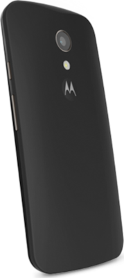 Motorola Back Cover Shell Black (Moto G 2nd Gen)