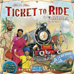 Days of Wonder Ticket to Ride: India