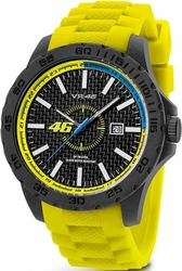 Yamaha By Tw Steel Valentino Rossi Yellow Rubber Strap VR1