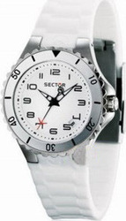 Sector White Rubber Strap R325111445
