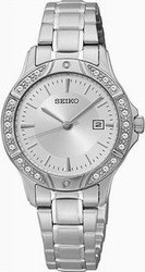 Seiko Women's Stainless Steel Quartz Watch SUR879P1