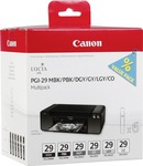 Canon PGI-29 MBK/PBK/DGY/GY/LGY/CO Value Pack (4868B018)