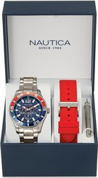 Nautica Stainless Steel Bracelet Box Set NAI16500G