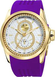 Jacques Farel Multifunction Purple Rubber Strap ATL4223PUR