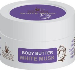 Aloe Plus Natural Cosmetics Body Butter White Musk 200ml