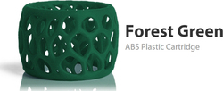 3D Systems CubePro ABS Forest Green (403048)