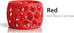 3D Systems CubePro ABS Red (401408-01)
