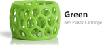 3D Systems CubePro ABS Green (401413-01)
