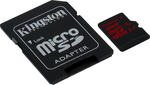 Kingston microSDHC 32GB Class 10 U3 with Adapter