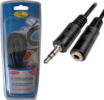 FT Electronics Audio Cable 3.5mm male - 3.5mm female 1.5m (FTT1-050)