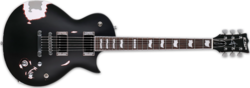 ESP Truckster LTD James Hetfield Black satin