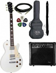 Jack and Danny Pack-3 Les Paul White