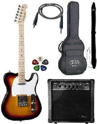 Jack and Danny Pack-6 Telecaster Sunburst