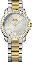 Juicy Couture Pedigree Two Tone Stainless Steel Bracelet 1901234