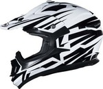 Shiro MX-734 Bravo White/Black