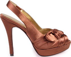 ΓΥΝΑΙΚΕΙΑ ΠΕΔΙΛΑ PEEP TOE PARIS HILTON (COFFEE) FLAVIA