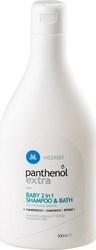 Medisei Panthenol Extra Baby 2 σε 1 Shampoo & Bath 500ml