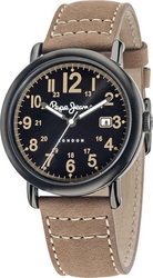 Pepe Jeans Sport Brown Leather Strap R2351105004