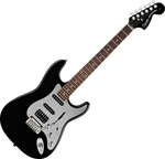 Squier Standard Stratocaster Black and Chrome