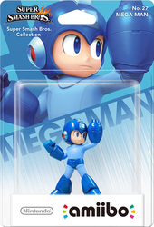 Nintendo Amiibo Super Smash Bros - Mega Man