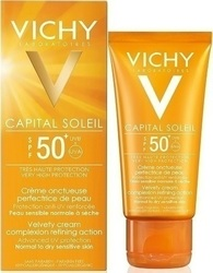 Vichy Capital Soleil Velvety Face Cream SPF50+ 50ml