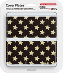 Nintendo Cover Plate 016 Stars New 3DS