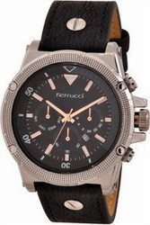 Ferrucci Leather Band Watch With Date FC7112.06