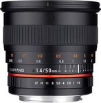 Samyang 50mm f/1.4 AS UMC Lens (Sony A-Mount)